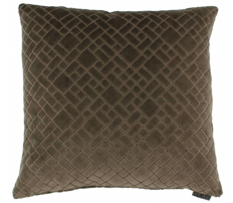 Cushion Assane in color Brown