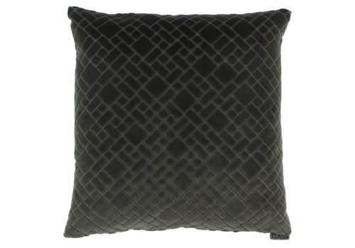 CLAUDI Cushion Assane Dark Taupe
