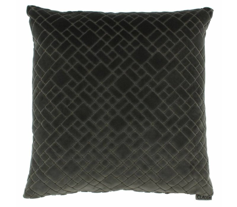 Cushion Assane in color Dark Taupe