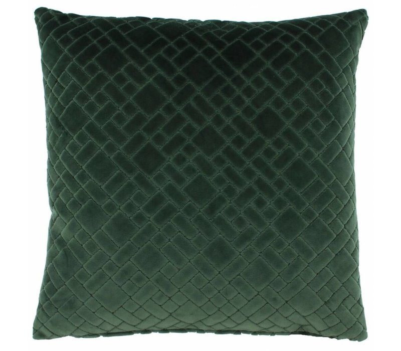 Cushion Assane in color Moss
