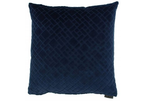 CLAUDI Cushion Assane Indigo
