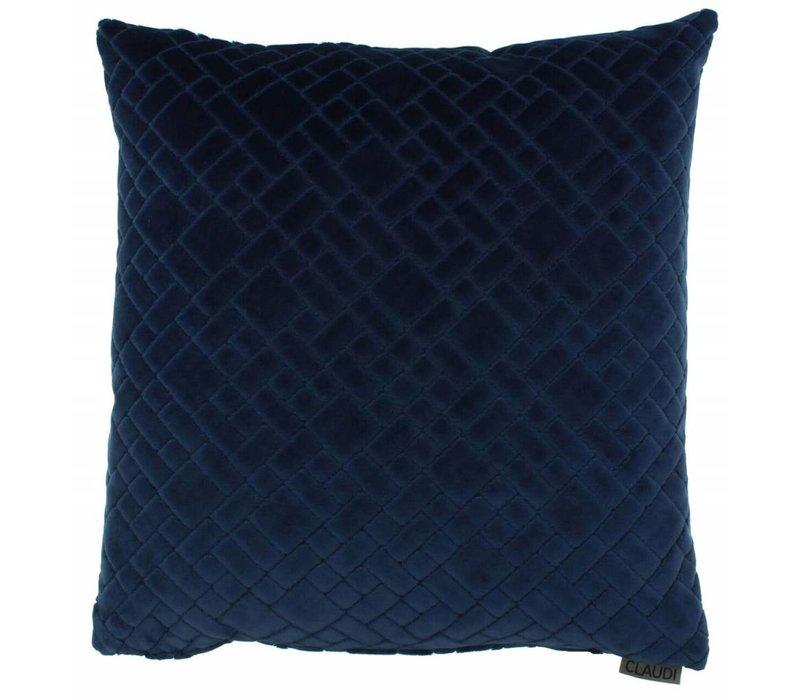 Cushion Assane in color Indigo