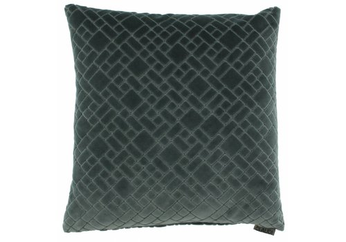 CLAUDI Cushion Assane Grey Mint