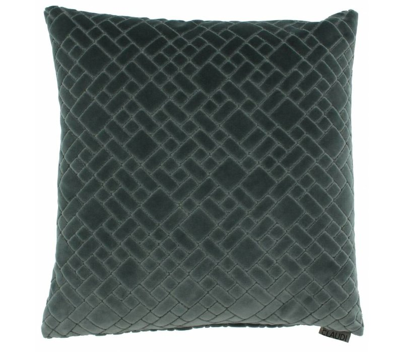 Cushion Assane in color Grey Mint