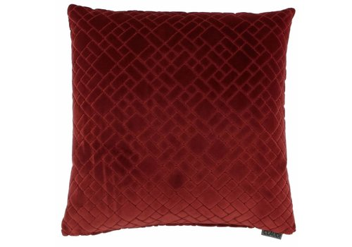 CLAUDI Chique Cushion Assane Dark Red