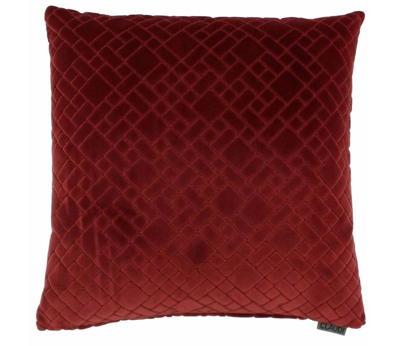 Cushion Assane in color Dark Red