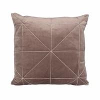 Cushion Oli in color Taupe