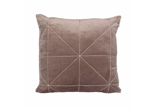 Dome Deco Cushion Oli Taupe