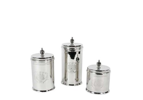 EICHHOLTZ Luxe buscuit Box 'Gaston' set of 3
