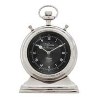 Desk clock 'Alain' L  in classic style 20 cm