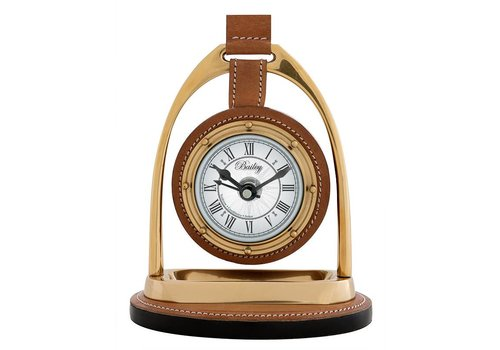 Eichholtz Desk clock 'Bailey Equestrian' Brass