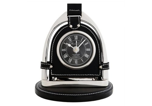 Eichholtz Desk clock 'Cadance' Nickel