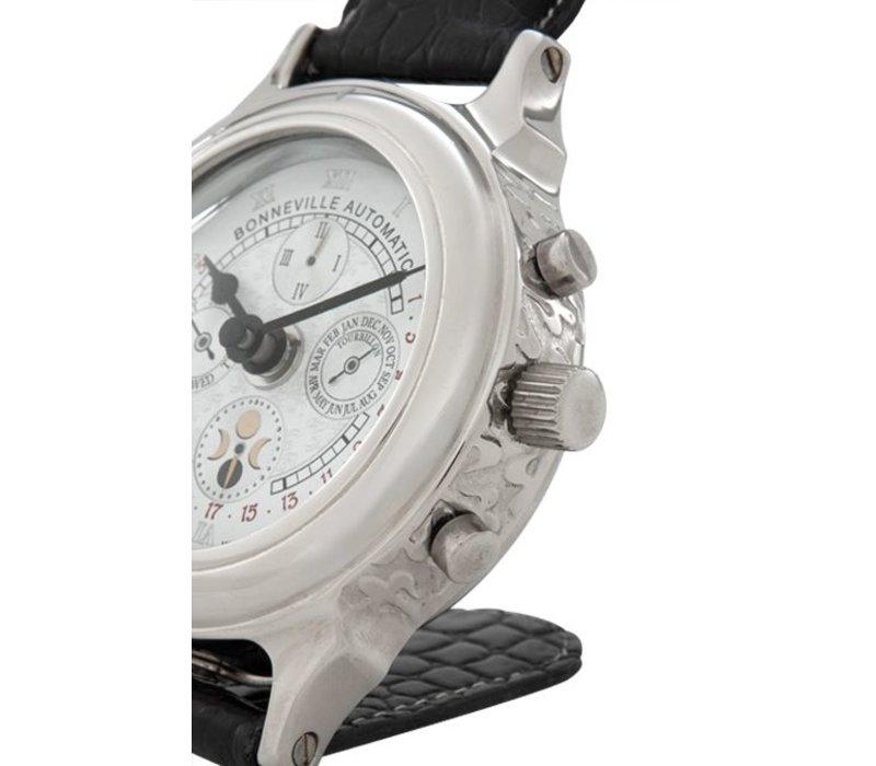 Bureauklok 'Bonneville' in luxe design 10 cm