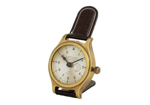 EICHHOLTZ Desk clock 'Marine Master' Brass