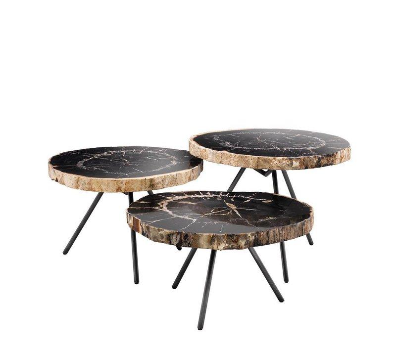 Couchtisch 'De Soto' set of 3 | 64 cm  Dark