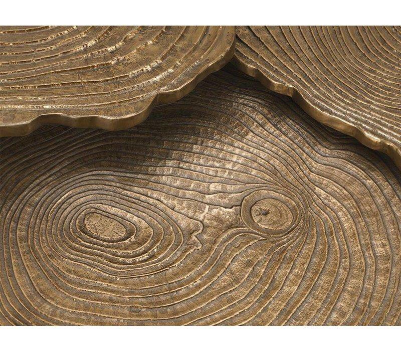Couchtisch 'Quercus' 3er Set