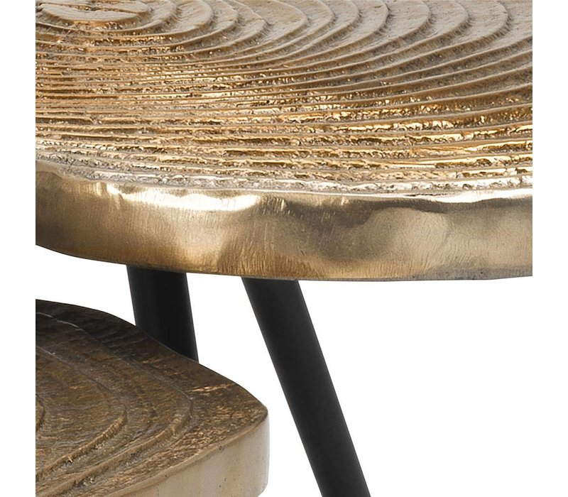Coffee tables 'Quercus' set of 3