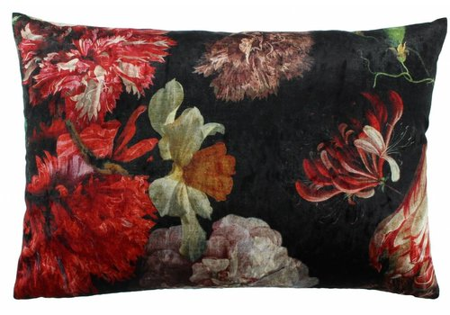 CLAUDI Design Kussen Flowers Ice Multicolor