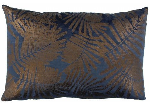 CLAUDI Design Cushion Ester Indigo Bronze