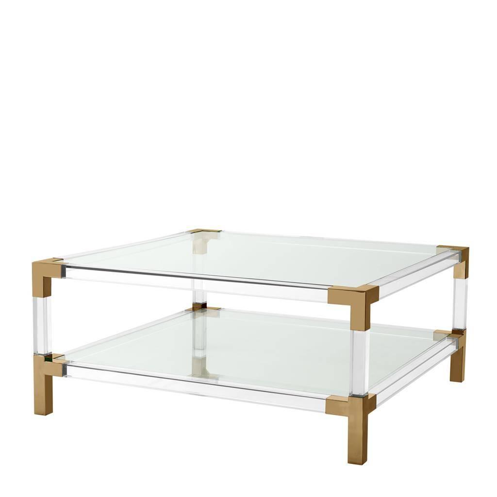 - Royalton' Bronze Coffee Table - Wilhelmina Designs