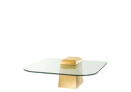 EICHHOLTZ 'Orient' Gold coffee table