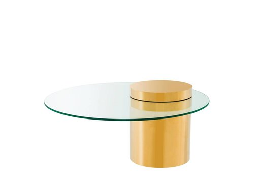 EICHHOLTZ 'Equilibre' Gold coffee table