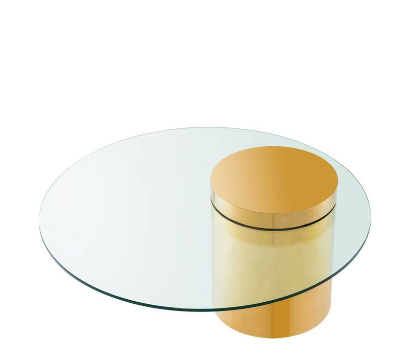 Couchtisch 'Equilibre' 90 cm  Gold