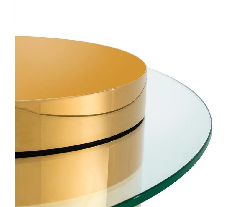 Couchtisch 'Equilibre' -  Gold