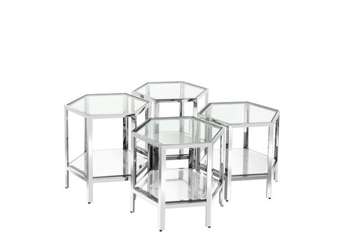 EICHHOLTZ Coffee table 'Aramis' set of 4