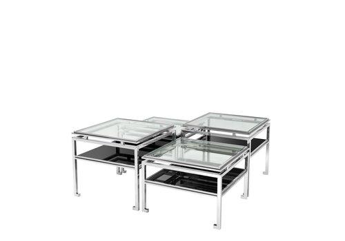 EICHHOLTZ 'Calvin' set of 4 coffee tables
