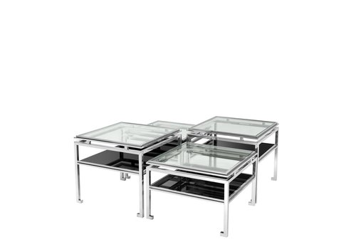 EICHHOLTZ Coffee table 'Calvin' set of 4