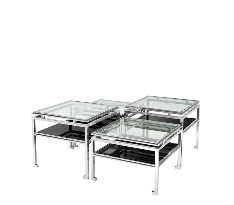 'Calvin' set of 4 coffee tables | 38 cm