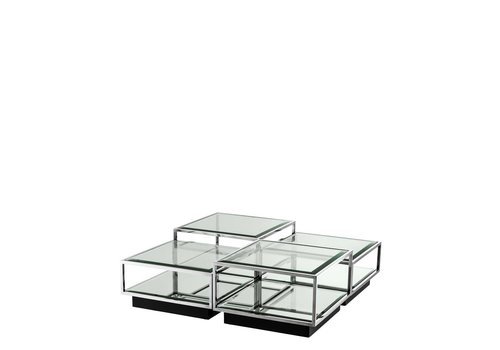 EICHHOLTZ Coffee table 'Tortona' set of 4