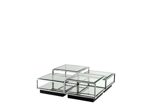 EICHHOLTZ 'Tortona' set of 4 coffee tables