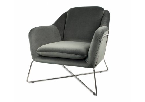 Dome Deco Gin lounge chair 'Green'