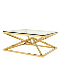 'Connor' Gold coffee table 45 cm