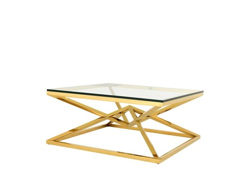 EICHHOLTZ 'Connor' Gold coffee table