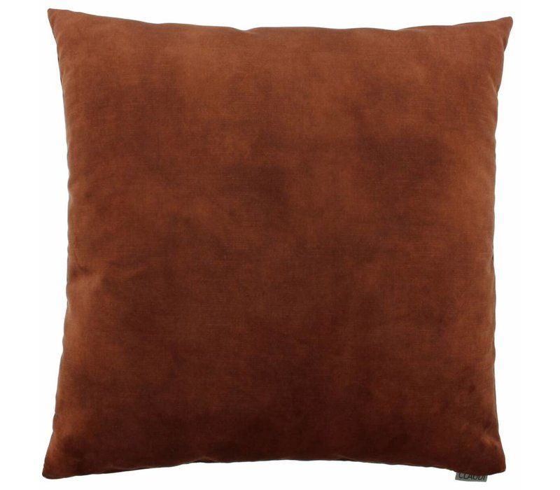 Cushion Adona in color Rust