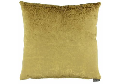 CLAUDI Cushion Izett Mustard