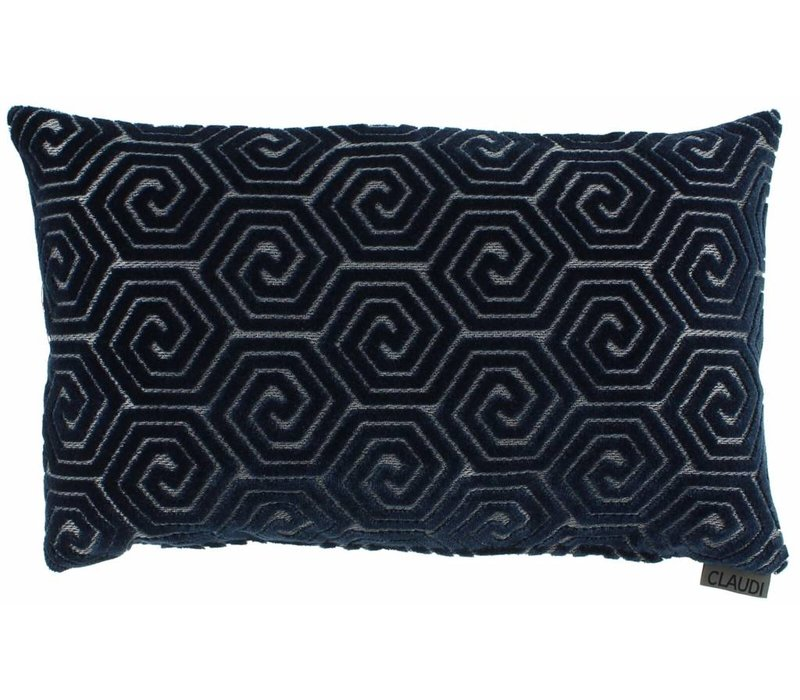 Cushion Lucie in color Denim