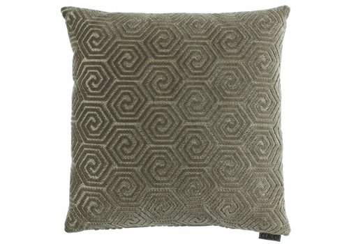 CLAUDI Cushion Lucie Dark Sand