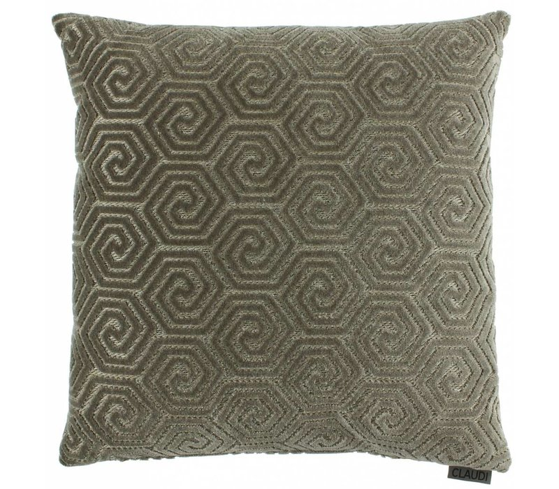 Cushion Lucie in color Dark Sand