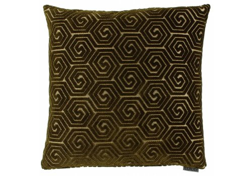 CLAUDI Cushion Lucie Dark Gold