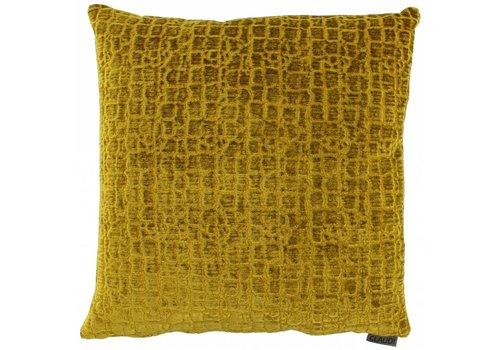 CLAUDI Cushion Liliano Mustard