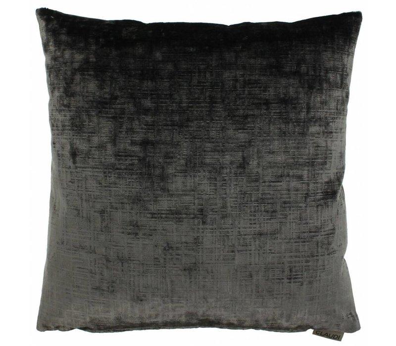 Cushion Sebastiano color Dark Taupe