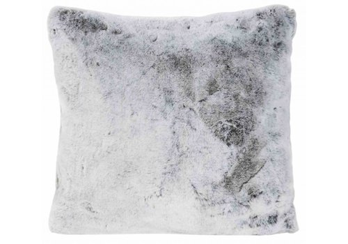 Winter-Home Cushion faux fur Koala