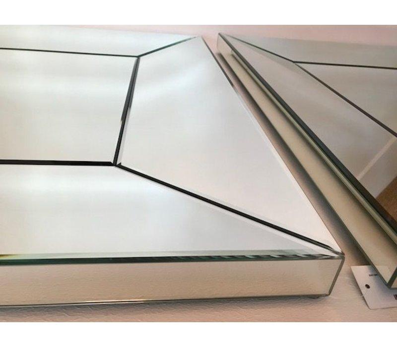Quadratischer Wandspiegel 100 x 100 cm Domenico