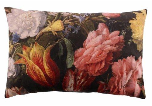 CLAUDI Design Cushion Bibi Flowers Ash Rose