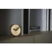 table clock 'Atomo Sobremesa' Gold