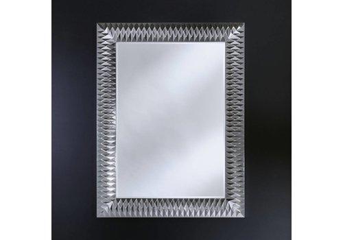 Deknudt spiegel 'Nick' zilver M